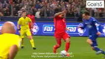 Zlatan Ibrahimovic Penalty Goal Bastia 0 - 1 PSG Coupe de France 11-4-2015