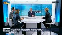 L'ingénieur 2015 est-il suffisamment armé pour devenir entrepreneur ?: Pascale Auger, Marion Guillou et Christophe Tibary - 11/04