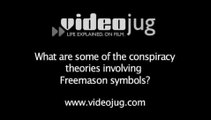 What are some of the conspiracy theories involving Freemason symbols?: Freemasons