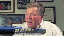 What inspired you to write 'Star Trek Academy - Collision Course'?: William Shatner On The Star Trek Books