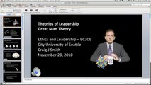 Theories of Leadership: The Great Man Theory