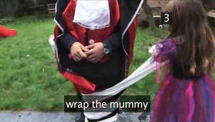 How To Initiate The Mummy Wrap Game