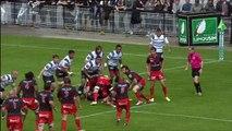 TOP14 - Brive - Lyon: Essai Waisele Sukanaveita (LYO) - J22 - Saison 2014/2015