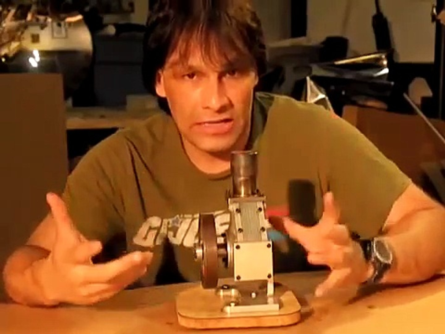 Inside A Stirling Engine Andy Ross Stirling Engine Kit Design Video Dailymotion