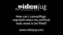 How can I camouflage regrowth when my artificial nails need to be filled?: How To Camouflage Regrowth When Your Artificial Nails Need To Be Filled