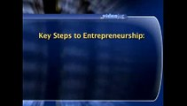 What are the key steps to being a successful entrepreneur?: Small Business And Entrepreneur Basics