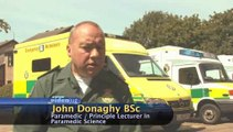 What is the main aim of a paramedic in an emergency situation?: Paramedics Defined