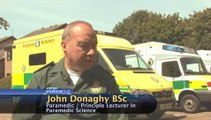 How far will a paramedic travel to attend an emergency?: Paramedics Defined