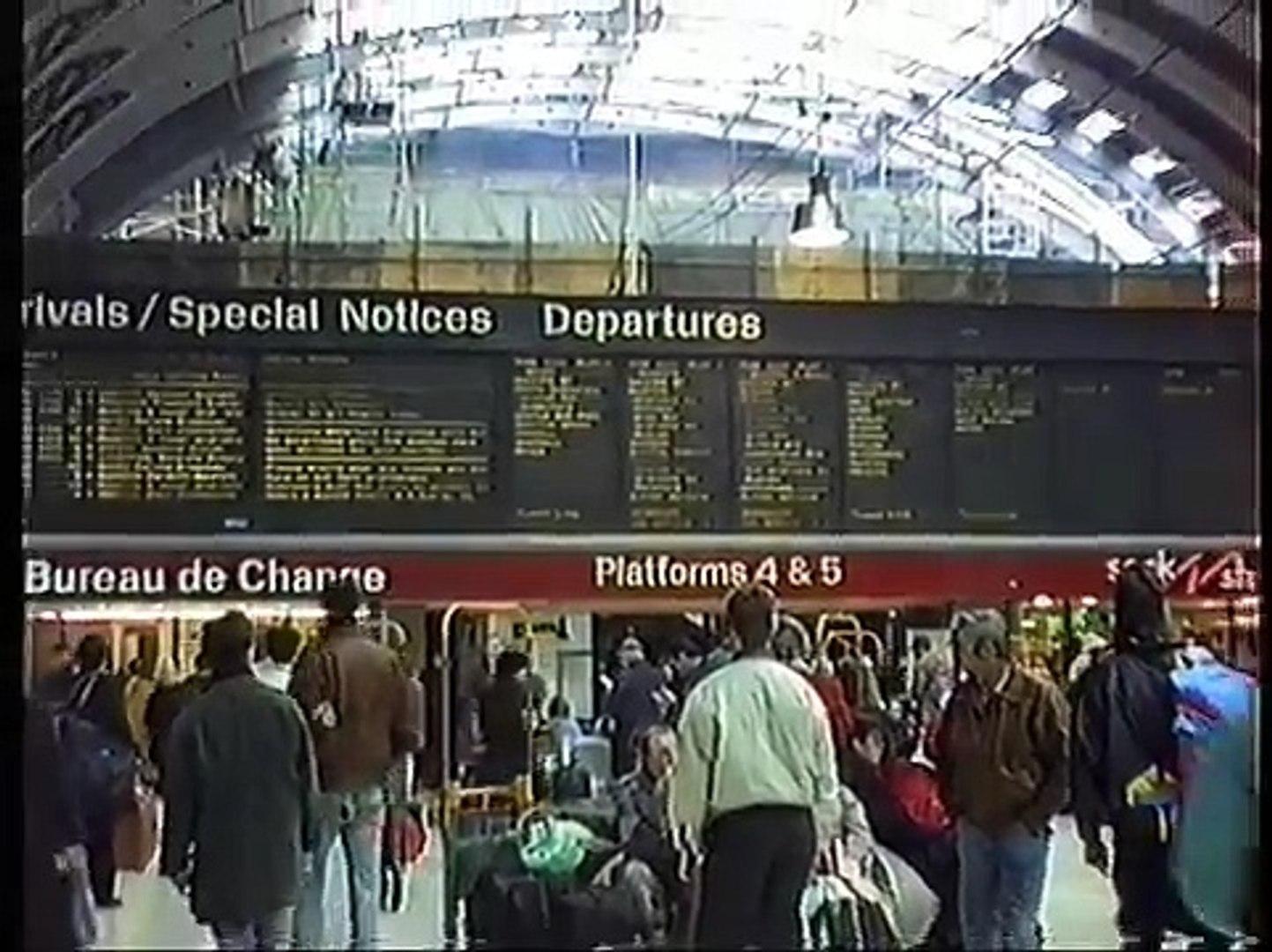Paddington to Reading (1990) - Inter-City HST (Valenta Paxman) - December 1990