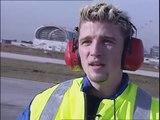Frédéric, agent de piste d'aéroport - une vidéo métier Pôle emploi