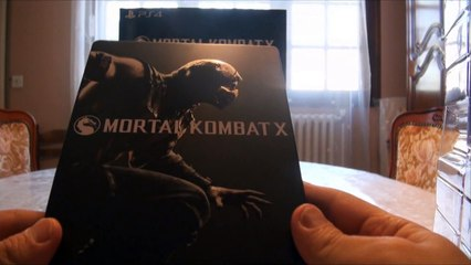 Mortal Kombat X - Kollector's Edition (Video Unboxing PS4)