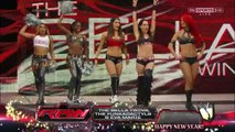 The Bella Twins, The Funkadactyls and Eva Marie vs. Aksana, Kaitlyn, Alicia Fox, Rosa Mendes and Summer Rae