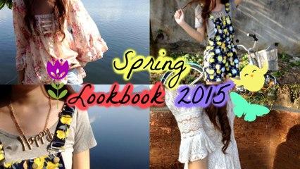Spring Lookbook 2015 | Yzabelle Provido