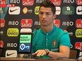Cristiano Ronaldo elogia trabalho de Fernando Santos