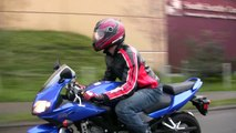 Motorcycles : How to Safely Ride a Motorcycle in Heavy Traffic