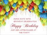 Doris Day's 90th birthday celebration