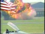 Pilot ejects milliseconds before Mig 29 Crash