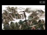"3D Animated Chinese Painting & Calligraphy (4/30,000) - Landscape with Dragons ""Prosperous China"""