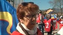 Loi Marisol Touraine : Manifestation à l'hôpital de Chambéry