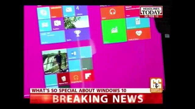 Gadgets and Gizmos Show: Samsung Galaxy Note Edge & Windows 10