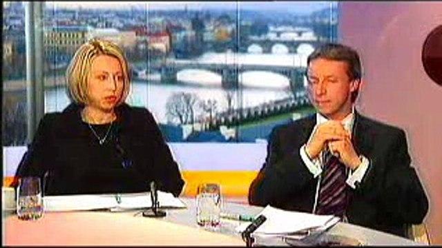 Pani Kateřina Jacques a Pavel Bém