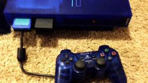 Sony Playstation 2 PS2 Consoles Collection; RARE Ocean Blue SCPH-37000 & Black SCPH-30001