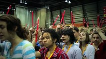 Guinness Record Largest Glowstick Design Université Laval