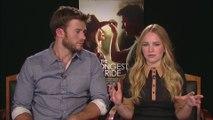"IR Interview: Scott Eastwood & Britt Robertson For ""The Longest Ride"" [20th Century Fox]"
