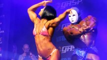 DANA LINN BAILEY - WITH KAI GREENE, COUPLES POSING - Fitness Muscle Female Bodybuilding