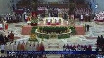 Génocide arménien : le pape déclenche la colère de la Turquie