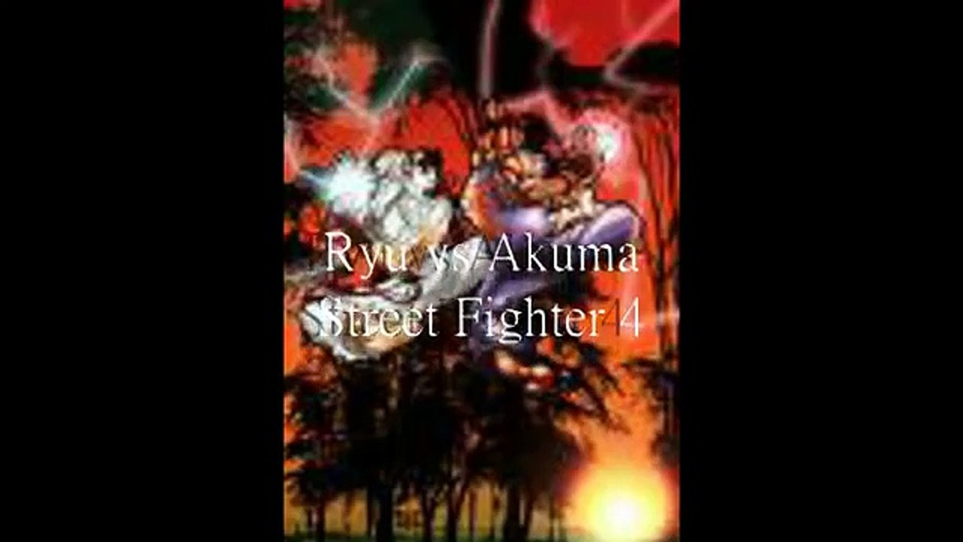 Street Fighter 4 Ryu Vs Akuma