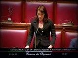 """Carla Ruocco (M5S) alla Boschi: """"Noi rappresentiamo i cittadini no le lobby"""" - MoVimento 5 Stelle"""