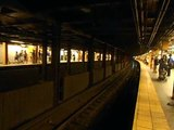 IND [Concourse] Subway: R68/A (B) Local & (D) [Local / Express] Trains @ 161st Street