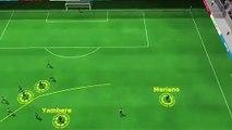 Cedric Yambere, Bordeaux'yu bu golle galibiyete taşıdı