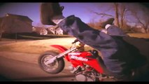 50 STUNT Street Skills Pit Bike STUNTS + TRICKS Mini Bike WHEELIES STOPPIES Motard Supermoto CRF50