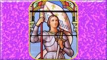 Vie et gloires de Ste Jeanne d'Arc sur l'Ave Maria de Lourdes (stances de l'abbé Gravier)