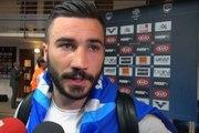 Alessandrini : «L'arbitre me dit que je glisse»