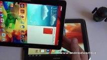 Samsung Galaxy Note 10.1 vs Galaxy Note 10.1 2014 Edition, il confronto by AndroidWorld.it