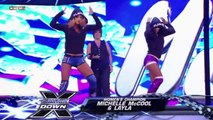 Michelle McCool and Layla (w/ Vickie Guerrero) vs. Beth Phoenix and Mickie James