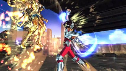 Saint Seiya  Soldiers  Soul - battle footage de