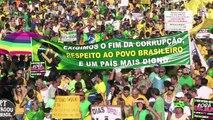 São Paulo: milhares vão às ruas contra o governo
