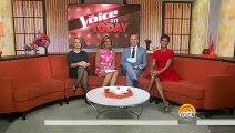 Christina Aguilera, Adam Levine, Blake Shelton & Pharrell | Today Show (13.04.2015)