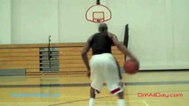 Streetball Back-Thru-Behind, Behind-Spin Move Jumper   And 1 Moves   Dre Baldwin