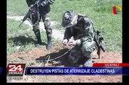 Policía Nacional dio golpe al narcotráfico en Ucayali y Ayacucho