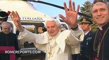 Pope welcomes Benedict XVI to the Vatican