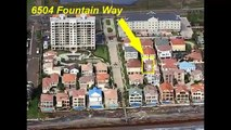 South Padre Island Real Estate - 6504 Fountain Way - The Villas of South Padre