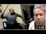 VIDEOS:Un homme atteint de schizophrénie et de troubles bipolaires se fait battre par la police