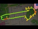 Babae, ginamit ang GPS tracker para mag-drawing ng mga penis sa mapa!
