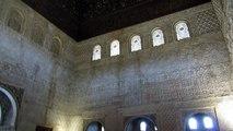 Arabesques, Alhambra, Granada, Andalusia, Spain, Europe
