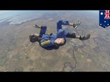 Skydiving seizure: GoPro video captures man convulsing before he can open his parachute